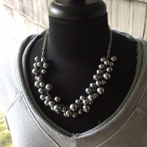 Jewelry - 🌀Bouncing Baubles! Gunmetal Gray Faux Pearls🌀